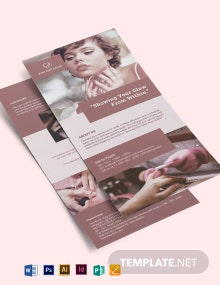 Nail Salon DL Card Template