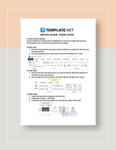 Computer Service Quotation Instructions