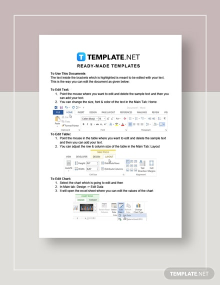 Web Project Quotation Instructions