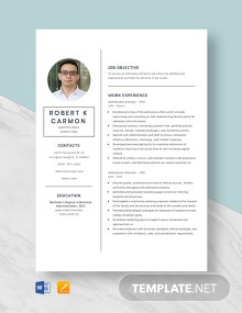 Admissions Director Resume Template