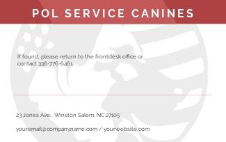 Service Dog Animal ID Card Format Template 1.jpe