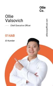 Simple Corporate ID Card Template