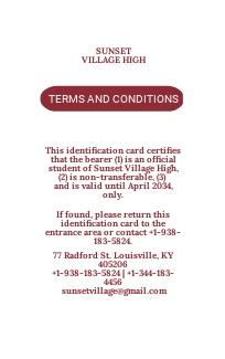 Simple School ID Card Template 1.jpe