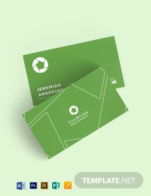 Aperture Business Card Template