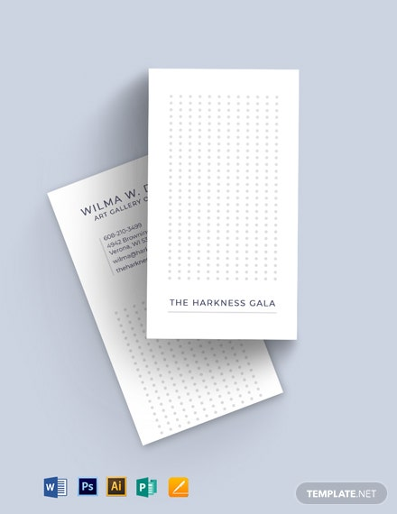 Artistic Business Card