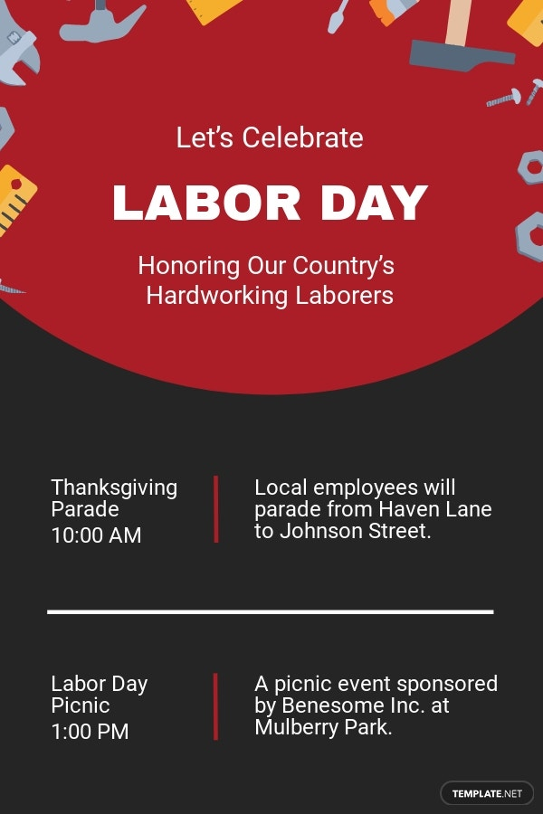 Labor Day Email Newsletter Template.jpe