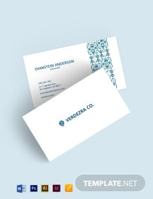 Business Cards in Ethnic Style Template