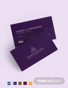 Clean Elegant Business Card Template
