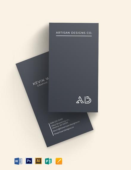Creative Designer Business Card Template