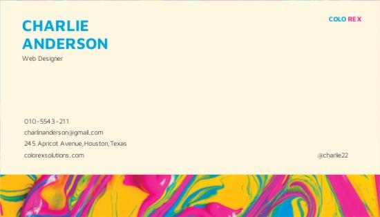 Creative Multicolor Business Card Template 1.jpe