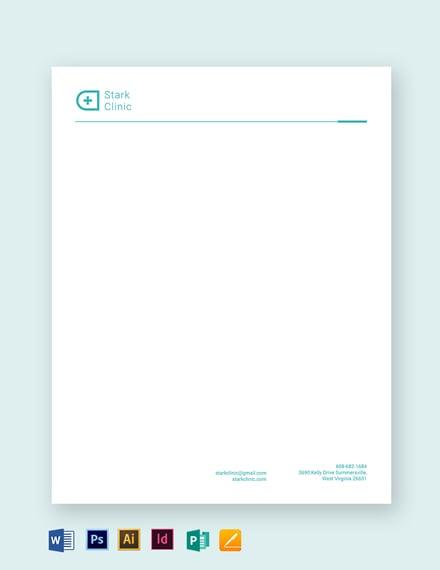 clinic letterhead