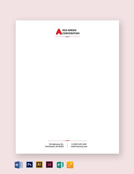 corporation letterhead