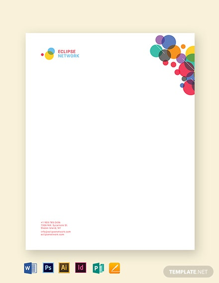 Creative Business Letterhead Template
