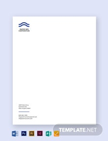Editable Small Business Letterhead Template