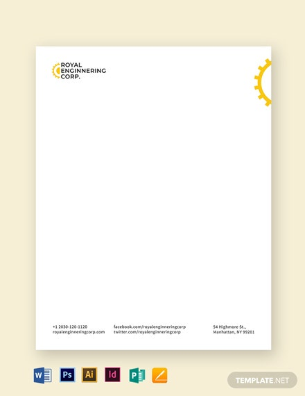 Engineering Letterhead Template