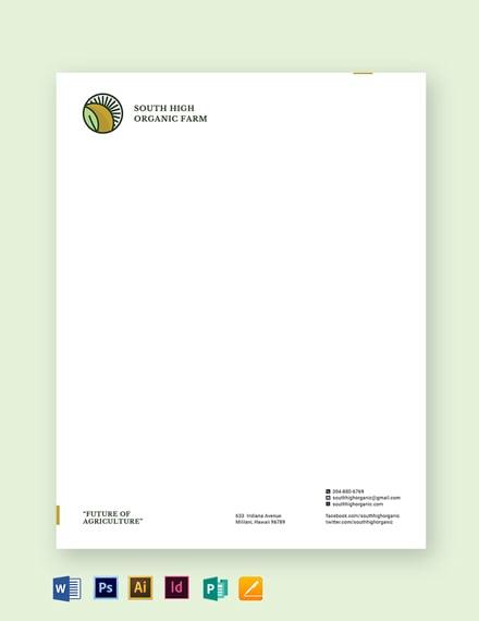 farm letterhead