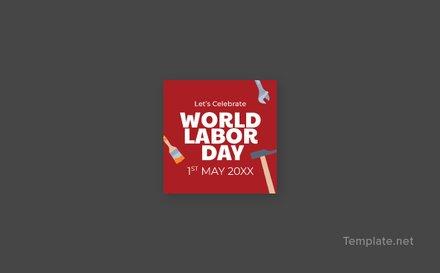 Free Labor Day Facebook Profile Photo Template