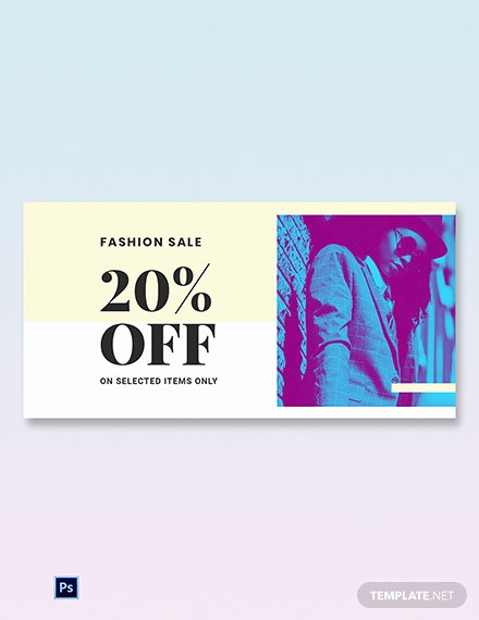 Free Fashion Clearance Sale Blog Image Template