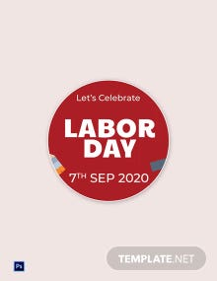 Free Labor Day Google Plus Header Photo Template