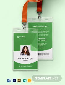 Format ID Card Template