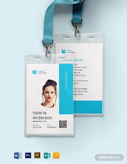 Mnc ID Card Template