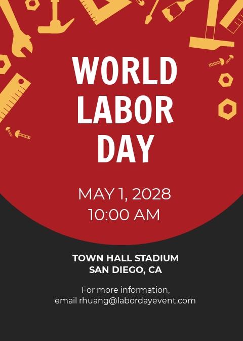 Free Labor Day Invitation Template.jpe