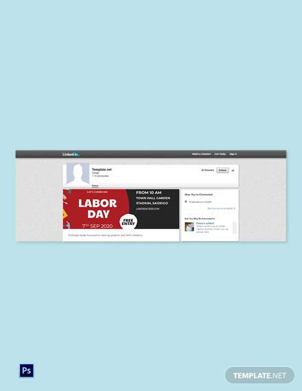 Free Labor Day LinkedIn Blog Post Template