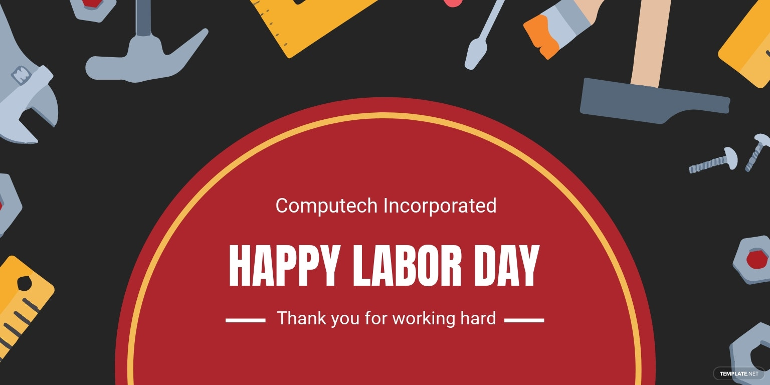 Labor Day LinkedIn Company Cover Template.jpe
