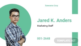 Printable Employee ID Card Template