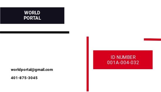 Printable Press ID Card Template 1.jpe