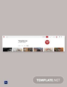 Free Labor Day Pinterest Profile Photo Template