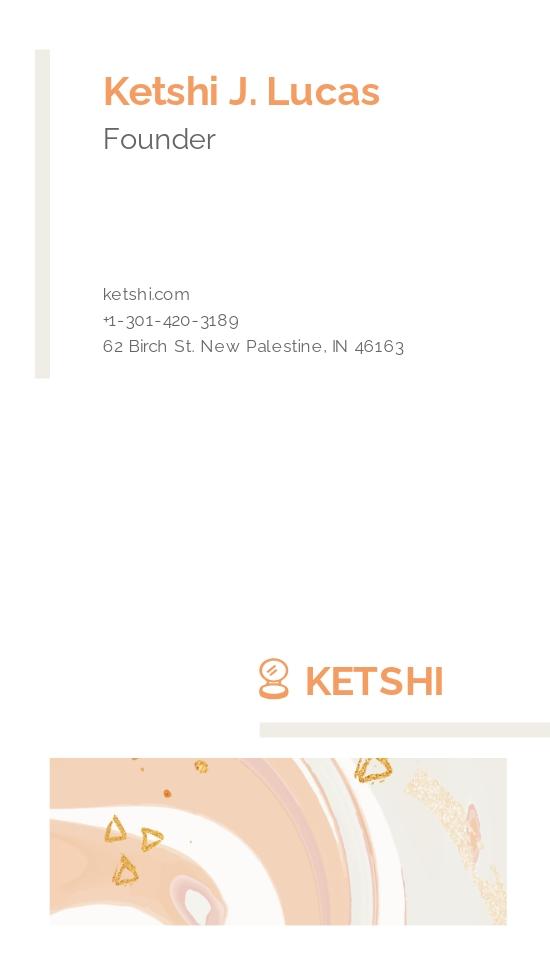 Makeup Watercolour Business Card Template 1.jpe