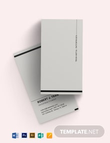 Metal Modern Business Card Template