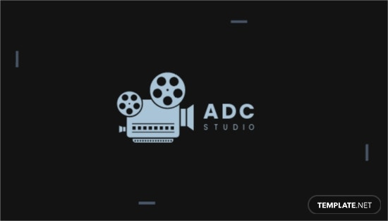 Movie Director Business Card Template