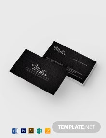 Shale Business Card Template