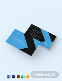 Simple Corporate Business Card Template