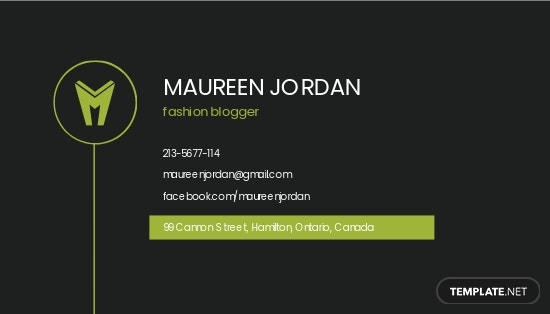 Simple Personal Business Card Template 1.jpe