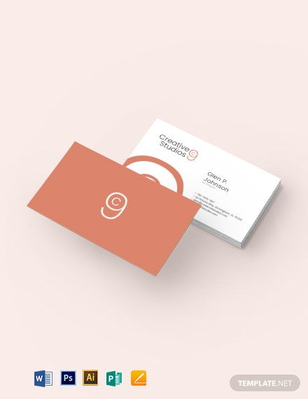 Soft Creative Business Card Template