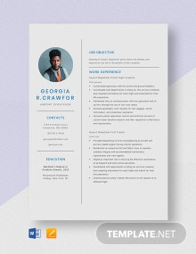 Airport Dispatcher Resume Template