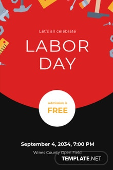 Free Labor Day Tumblr Post Template