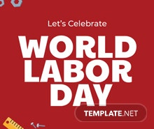 Free Labor Day Twitter Header Cover Template