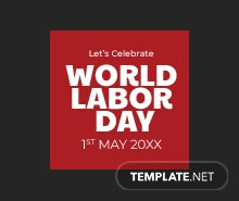 Free Labor Day Tumblr Profile Photo Template