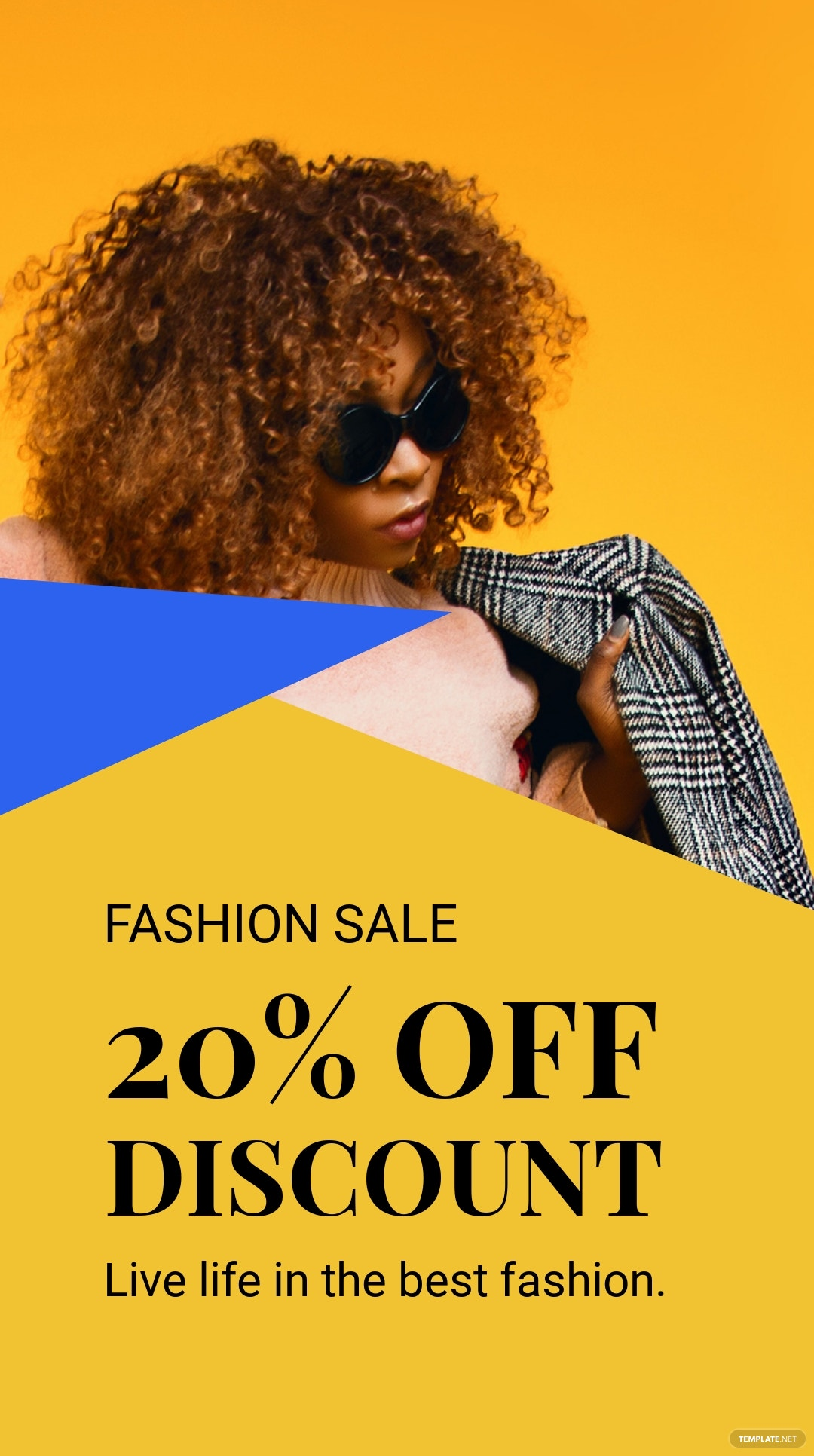 Free Creative Fashion Sale Instagram Story Template