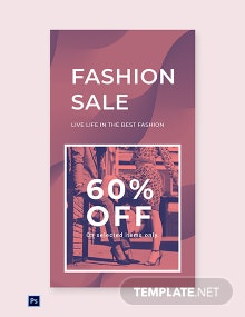Free Fashion Sale Offers Whatsapp Image Template