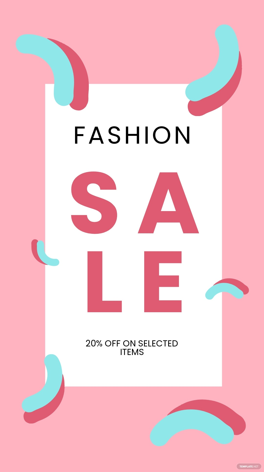 Free Modern Fashion Sale Instagram Story Template