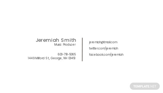 Music Producer and DJ Business card Template 1.jpe