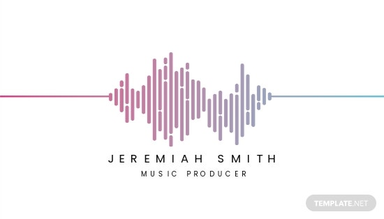 Music Producer and DJ Business card Template.jpe