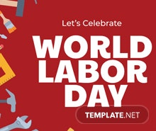 Free Labor Day YouTube Channel Cover Template