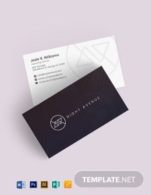 Nightclub Business Card Template