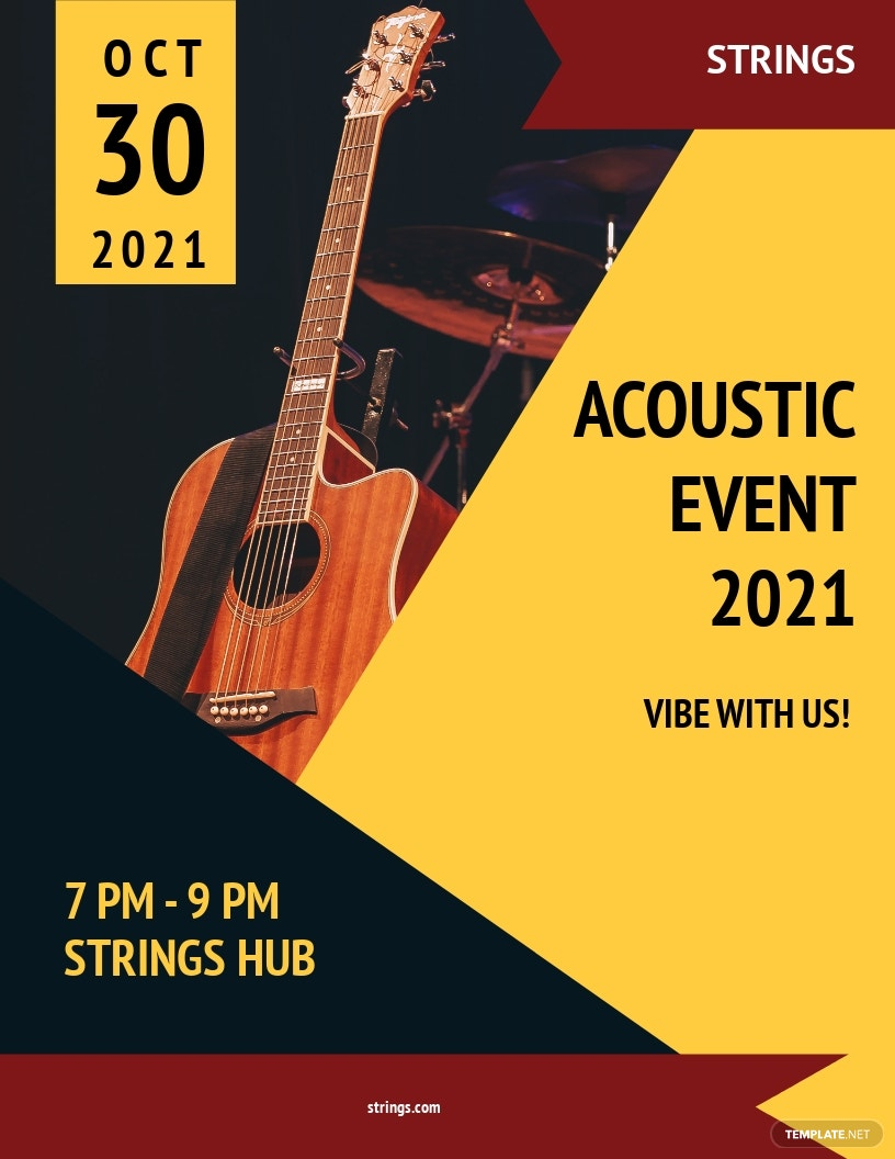 Acoustic Event Flyer Template.jpe